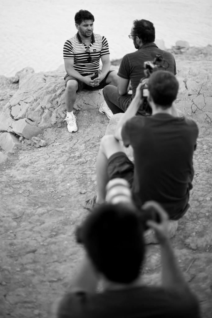 Filmació del documental a Argèlia